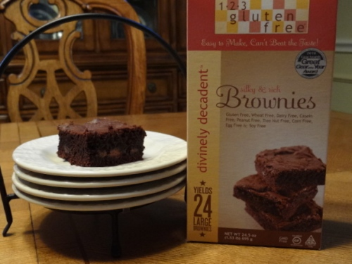 1-2-3 Gluten Free Brownies