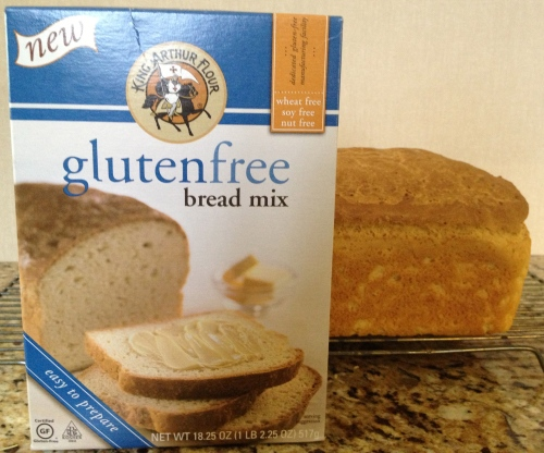 King Arthur GF Bread mix