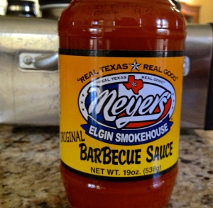 Meyer's Elgin Smokehouse BBQ Sauce
