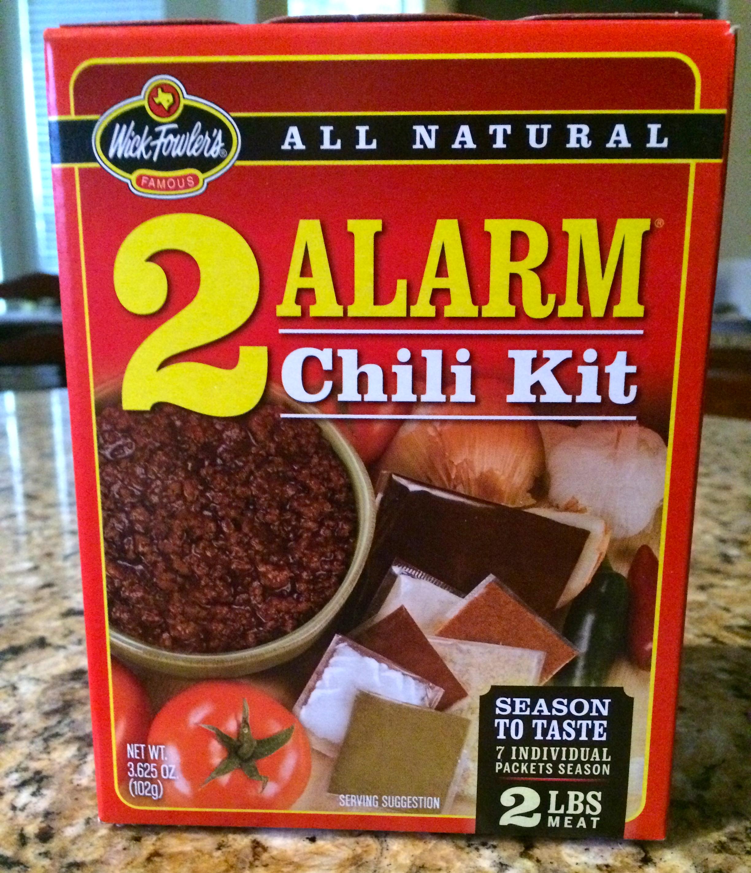 Wick Fowlers 2 Alarm Chili Kit